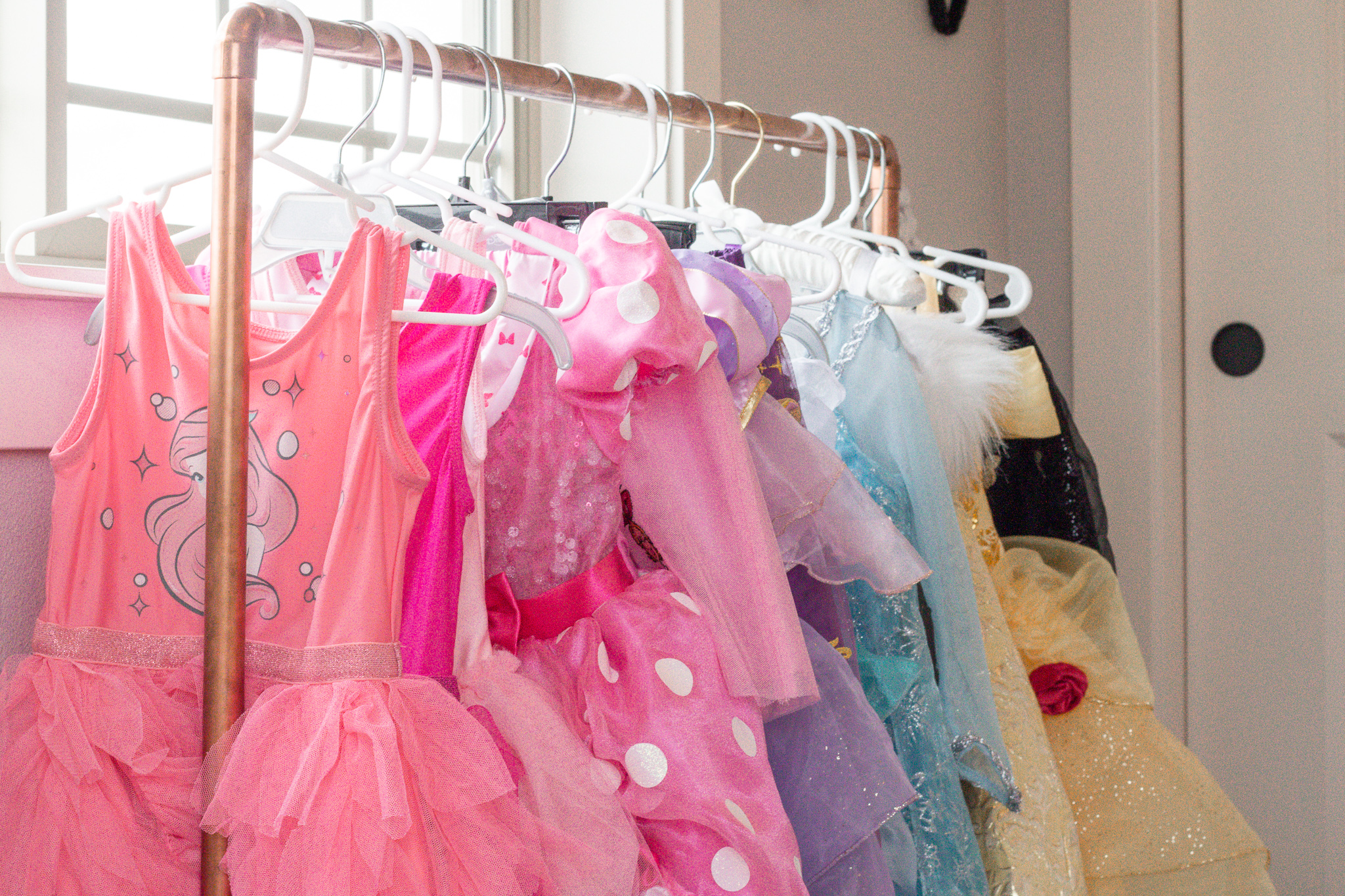 DIY Kids Dress Up Rack