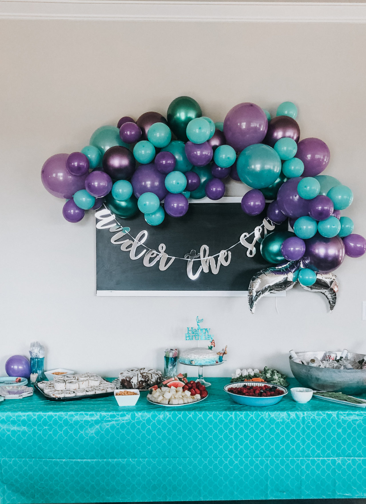 A Mermaid Birthday Party | Peyton Turns 3