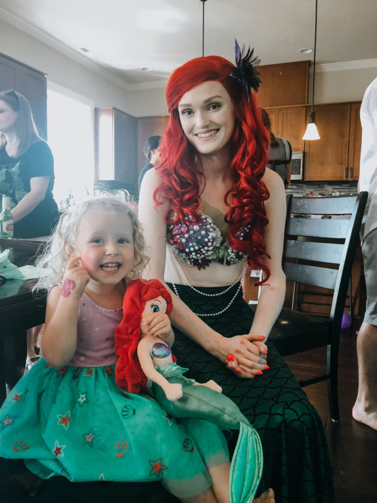 ariel face painting
