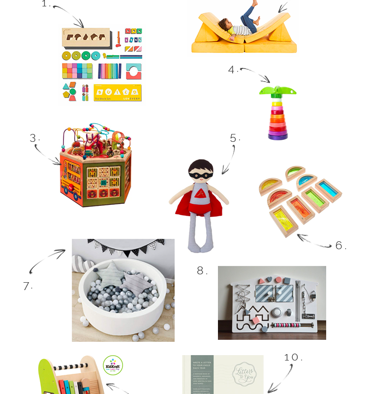 10 Great First Birthday Gift Ideas